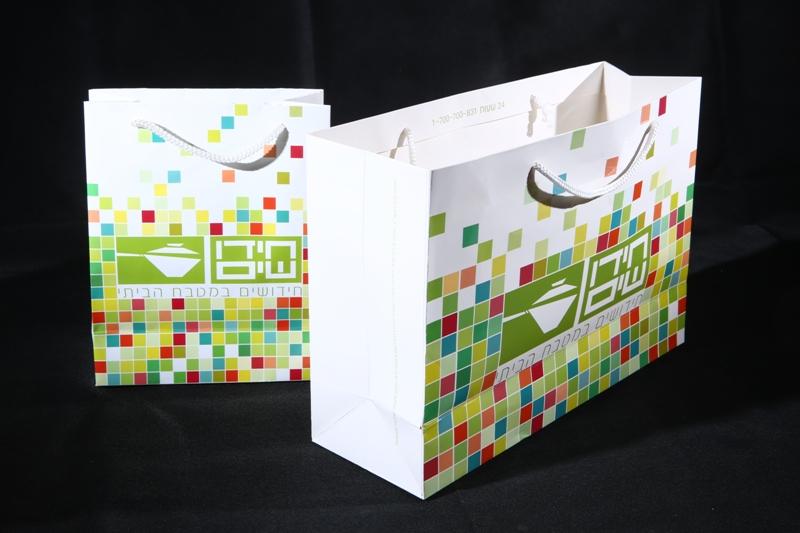 שקיות נייר ממותגות מקרטון, לשמירה על איכות הסביבה